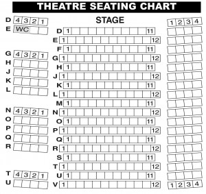 Theatre Seating Chart
