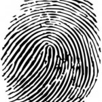 vector_set_of_fingerprints_design_elements_528779