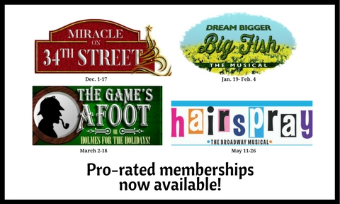 Pro-rated memberships are available! MEMBERS can save MONEY!
